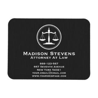 Rechtsanwalts-Rechtsanwalt-Gerechtigkeits-Skalen Magnet