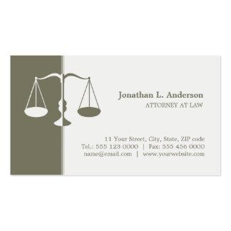 Rechtsanwalts-/Rechtsanwalt-Visitenkarte