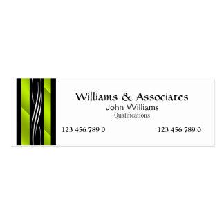 Rechtsanwalts-Rechtsanwaltmonogrammgrün Mini-Visitenkarten