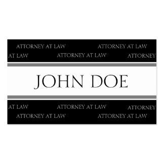 Rechtsanwalts-silberne Streifen - verfügbarer Visitenkarten