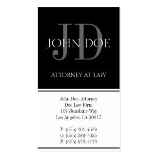 Rechtsanwalts-vertikales Weiß Visitenkarten