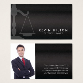 Rechtsanwalts-Visitenkarte-Schablone Visitenkarte