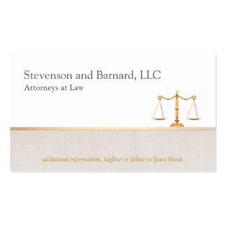 Rechtsanwalts-Visitenkarte-Visitenkarte