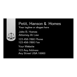 Rechtsanwalts-Visitenkarten