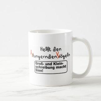 Rechtschreibung Kaffeetasse
