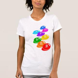 Rechtschreibungs-Bohnen-T - Shirtschablone T-Shirt