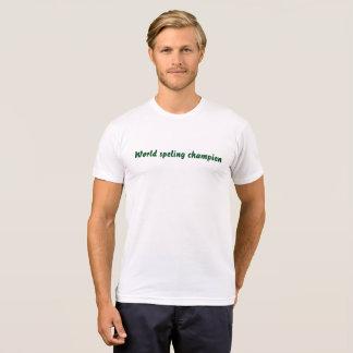 Rechtschreibungs-Meister T-Shirt