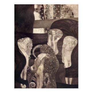 Rechtswissenschaft Gustav Klimt- (abschließender Postkarte