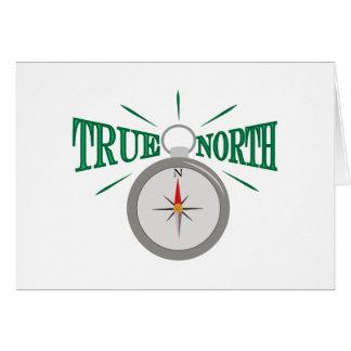Rechtweisend Nord Grußkarte