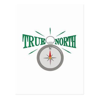 Rechtweisend Nord Postkarte