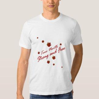 Rechtweisend Nord stark und frei Hemden