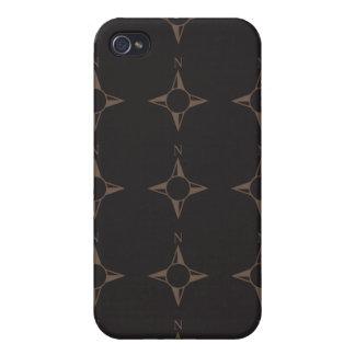 Rechtweisend Nordbraun iPhone 4 Etui