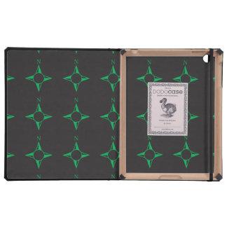 Rechtweisend Nordgrün iPad Hüllen