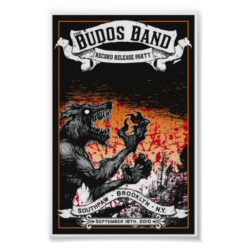Record-Release Budos Band-III Poster