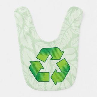 Recyceln des Symbols Babylätzchen