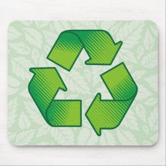 Recyceln des Symbols Mousepad