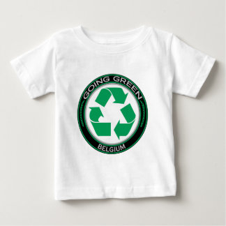 Recyceln Sie Belgien Baby T-shirt