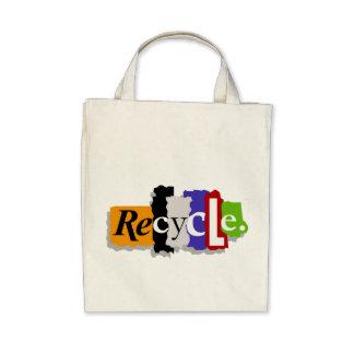 Recyceln Sie Bio Taschen-Tasche