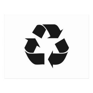 recyceln Sie black.jpg Postkarten
