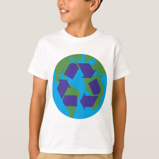 Recyceln Sie Color.png T-Shirt