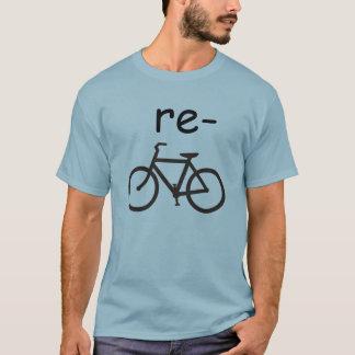 Recyceln Sie das lustige Fahrrad T-Shirt