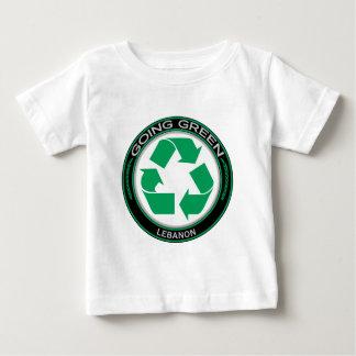 Recyceln Sie den Libanon Baby T-shirt