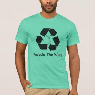 Recyceln Sie den Wind T-Shirt