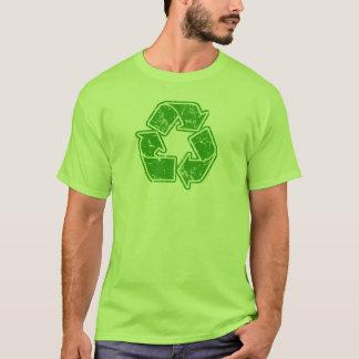 Recyceln Sie die Vintage Grafik T-Shirt