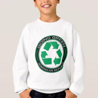 Recyceln Sie Dominikanische Republik Sweatshirt