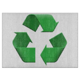 Recyceln Sie - Emoji Schneidebrett