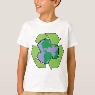 Recyceln Sie Erde T-Shirt