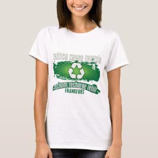 Recyceln Sie Frankfort T-Shirt