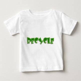 Recyceln Sie grünen Entwurf! Baby T-shirt