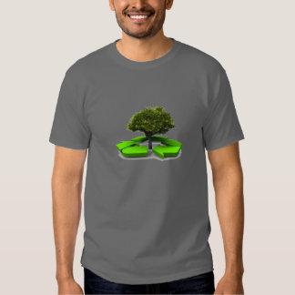 recyceln Sie Hemd