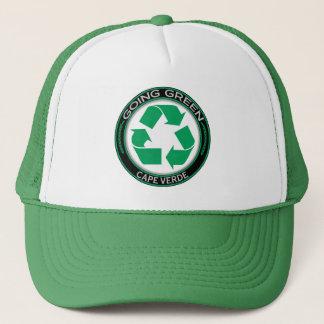 Recyceln Sie Kap-Verde Truckerkappe