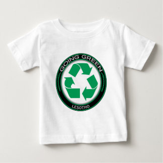 Recyceln Sie Lesotho Baby T-shirt