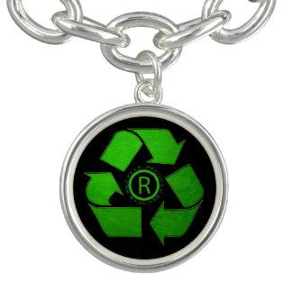 Recyceln Sie Logo durch Shirley Taylor Armband