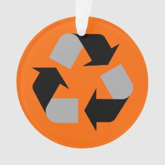 Recyceln Sie Ornament
