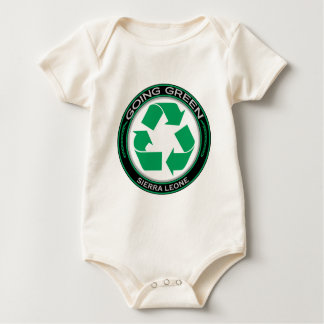 Recyceln Sie Sierra Leone Baby Strampler