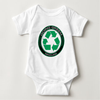 Recyceln Sie Swasiland Baby Strampler
