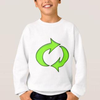Recyceln Sie Symbol Sweatshirt