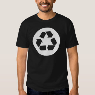 Recyceln Sie Symbol - Wiederverwendung, T-shirt