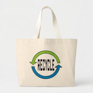 Recyceln Sie Tasche
