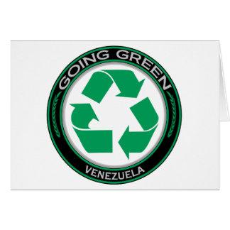 Recyceln Sie Venezuela Karte