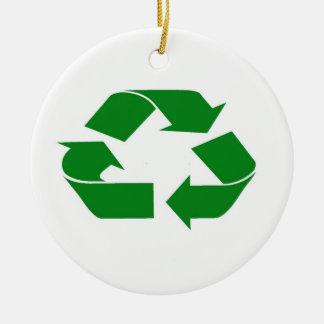 Recyceln Sie Verzierung Keramik Ornament