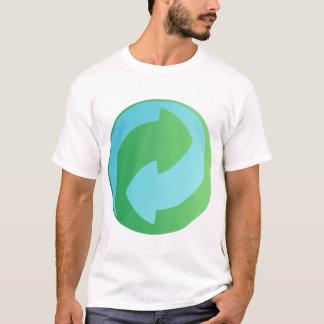 Recyceln Sie Wasser-Shirt T-Shirt