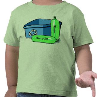 Recyceln Sie Wiederverwendung T-shirt