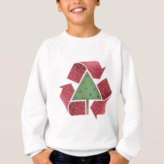 Recyceln Sie X-Verwirrung Sweatshirt