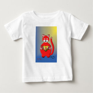 Red Cat2 Baby T-shirt