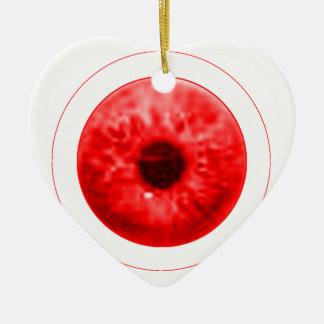 Red Eye schauen jGibney der MUSEUM Künstler Serie Keramik Ornament